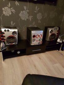 5disc cd music system