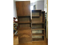Wooden Shelves Stackable different ways - £40