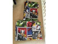 Avengers bedding & curtains