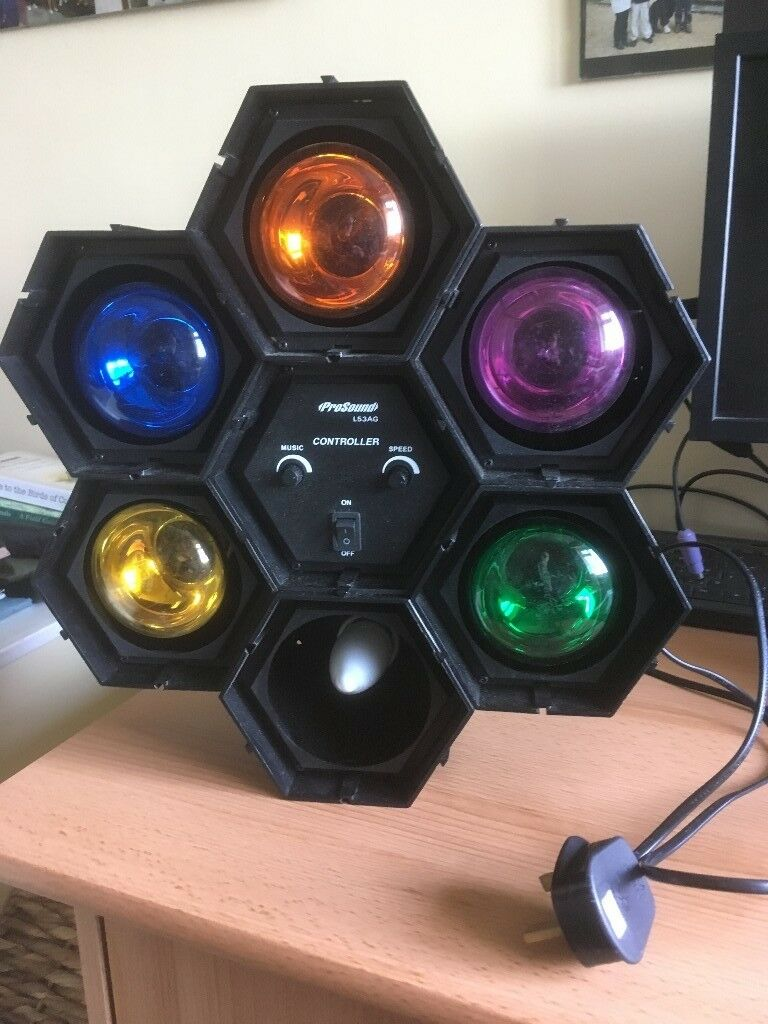 Disco Lights Pro Sound L53ag Excellent Working Order And Condition 6 Colours In Reading Berkshire Gumtree