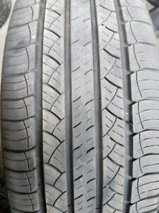 4 pneus d't 245/60/20 Michelin Lattitude Tour HP. 35% d'usure, mesure 6-7/32.