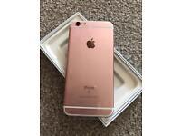 iPhone 6S 64gb, rose gold, unused, unlocked