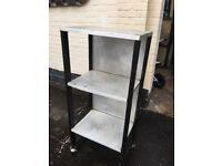 Stainless shelves for sale , good condition