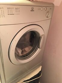 Silver indeset tumble dryer