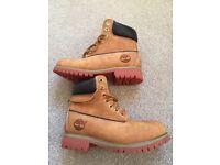 Timberland boots size 4