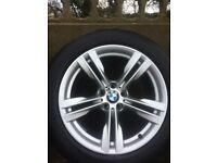 BMW X5 M SPORT ALLOYS 19 INCH RUNFLAT TYRES