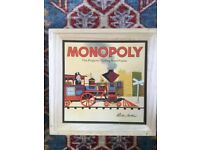 Monopoly boxed wooden game