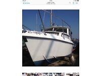 21ft Foster GRP Cruiser/Fishing Boat