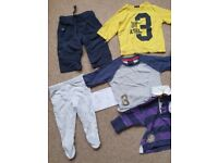 3-9 months baby clothing bundle £6