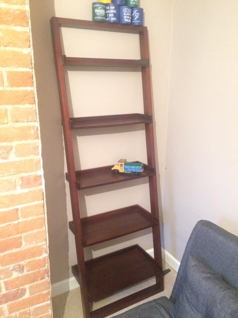 Bookshelves Bookcase Slanted Wall