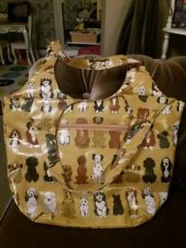 NEW LOVELY DOG / PUPPY DESIGN BAG - PERFECT FOR CHRISTMAS GIFT