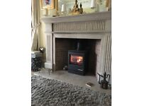 Yeoman CL5 Gas Fire with Log Burner Effect