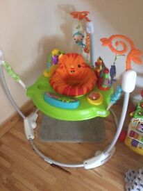 Fisher price jumperoo excellent con