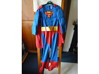 Superman with Cape Fancy dress 5-6 yrs for Book Day