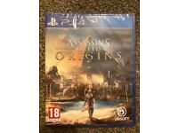 **SEALED** ASSASSINS CREED ORIGINS PS4 GAME BRAND NEW ASSASSIN'S VIDEO GAME FOR PLAYSTATION 4
