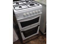 White Gas cooker 50cm......Cheap free Delivery
