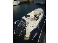 Rib Avon 490 seasport Yamaha 80 fourstroke