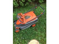 Flymo roller compact 400 lawnmower for sale -great condition