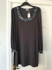 Wallis charcoal dress/tunic