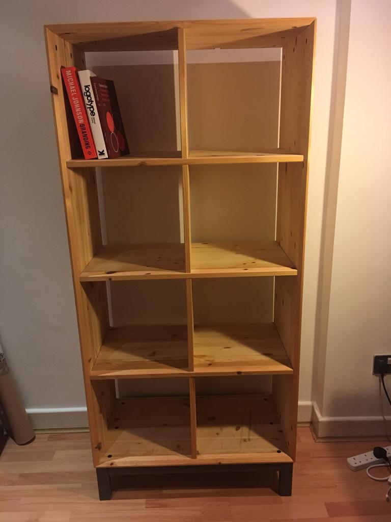 Ikea bookcase 39 nornas 39 in hackney london gumtree - Muebles modulares ikea ...