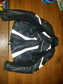 leather richa bike jacket