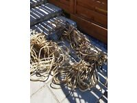 Heavy duty necklace of lights for garden or house