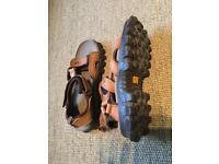 Caterpillar sandals size 9