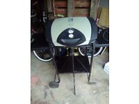 Large outdoor george forman grill and stand