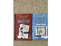 Diary of the wimpy kid x 2