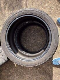 Yokohama semi slick tyres