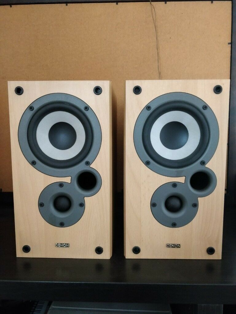 DENON SC M10k Bookshelf Hi Fi Speakers