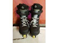 Anarchy Agressive inline skates - size 6