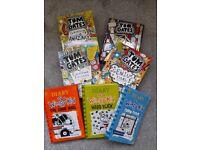 7 Books - Diary of a Wimpy Kid & Tom Gates Captain Books