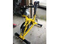 Used, Trixter x bike indoor exercise spinning bike for sale  Bath, Somerset