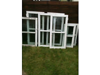 Various double glazed inserts x7 (glass has misted on most paynes)
