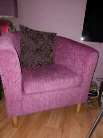 Tub chairs x2 for sale