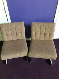 Reception Chairs x 2