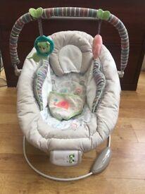 Comfort and Harmony baby vibrating/musical rocker