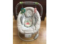 Comfort and Harmony baby vibrating/musical rocker