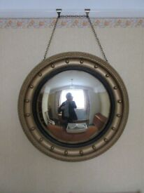 Unusual large convex mirror