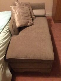 Superb chaise lounge,on great condition like new ,beige in colour
