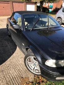 BMW 330ci Black Convertible