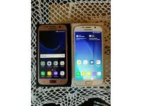 Samsung Galaxy S7 & S6 boxed