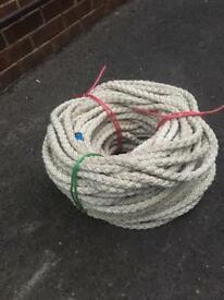 Rope multiplait nylon 16mm x 80m sailing anchor