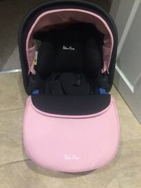 Baby pink Silver cross 3in1 travel system