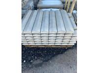 •New• Concrete Garden Wall Coping Stones / Tops