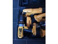 Dewalt 18v nicad power tool set
