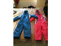 Childrens Campri Boys and Girls Ski Suits