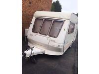 1995 Fleetwood Colchester 2 berth, All caravan camping equipment