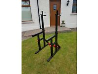 Bodymax CF415 Squat and Dip Rack with Spotter Catchers - Great condition